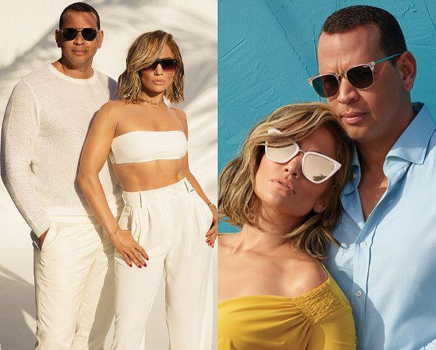 Jennifer Lopez tuli się do narzeczonego w nowej kampanii