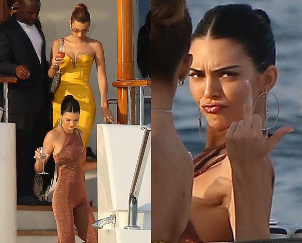 Kendall Jenner i Bella Hadid pozdrawiają paparazzi środkowymi palcami