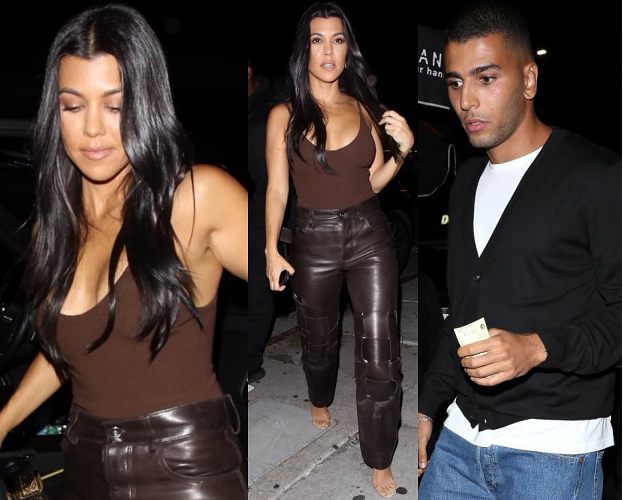 Kourtney Kardashian imprezuje z byłym. Da mu drugą szansę? (FOTO)