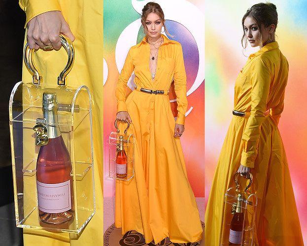 Przezorna Gigi Hadid poszła na branżową imprezę z własnym alkoholem