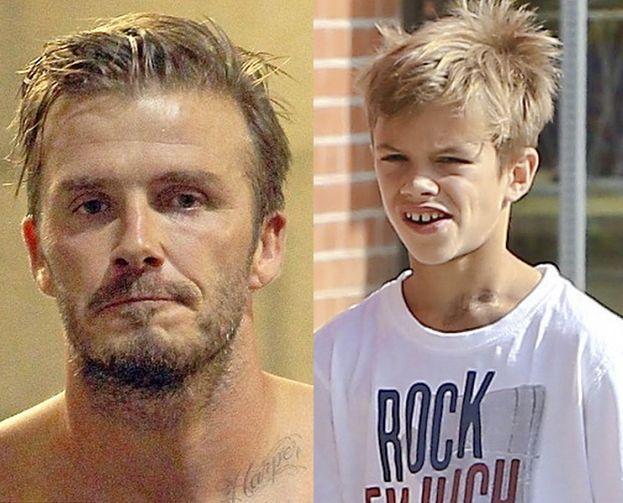 10 Letni Syn Beckhama Ma Tatuaż Na Szyi Foto Pudelek