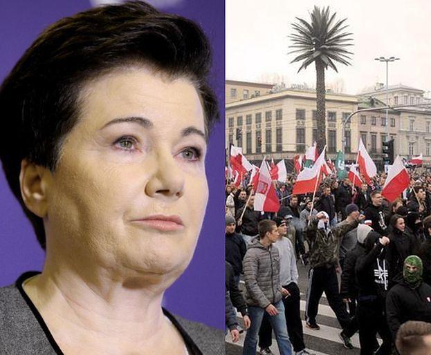 Gronkiewicz-Waltz ZAKAZAŁA Marszu Niepodległości w Warszawie!
