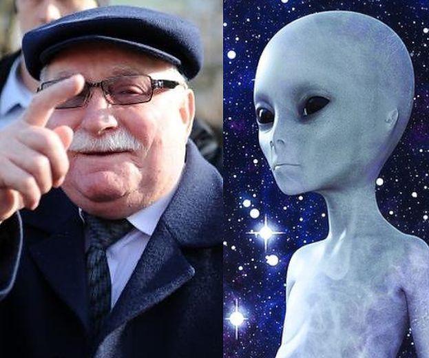 """Lech Wałęsa tłumaczy się z dywagacji na temat zniszczenia Ziemi przez kosmitów: """"Ja mam swoje UFO, mój punkt widzenia"""""""