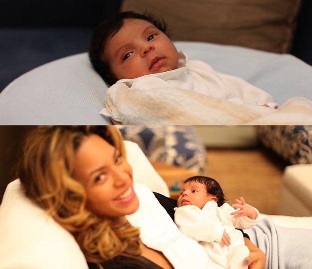 Beyonce i Jay-Z pokazali córeczkę! (ZDJĘCIA)