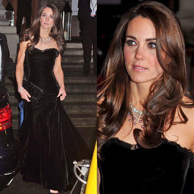 5d96881d71 Kate Middleton w sukni od McQueena - PUDELEK