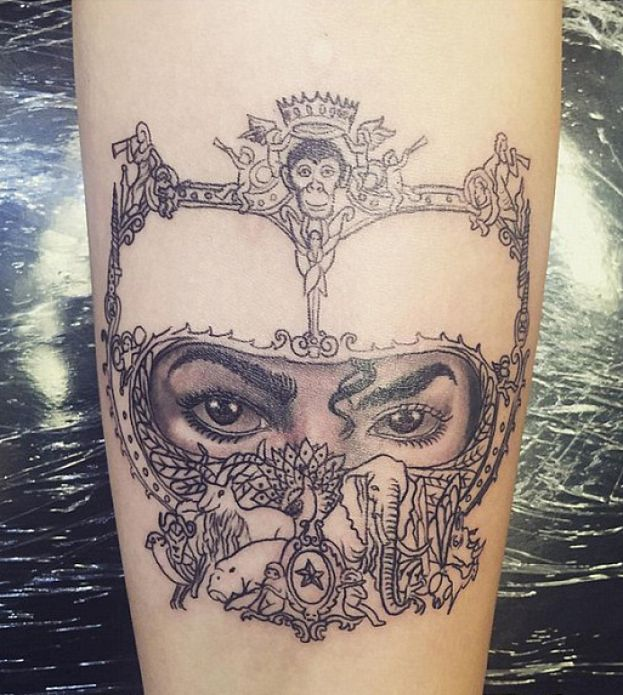 Paris Jackson Zrobiła Sobie Tatuaż Na Cześć Ojca Foto