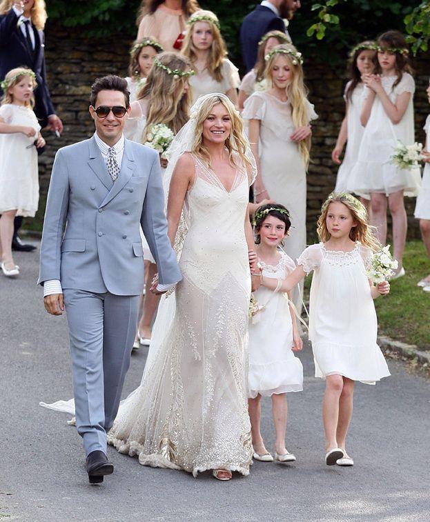 Romantyczny ślub Kate Moss Zdjęcia Pudelek