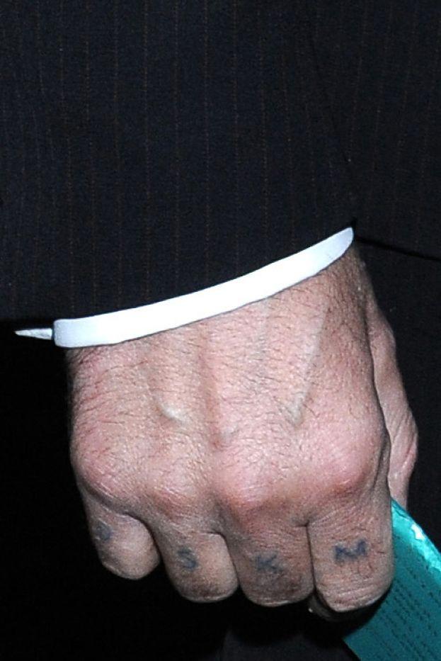 Urbański Zrobił Sobie Więzienny Tatuaż Foto Pudelek