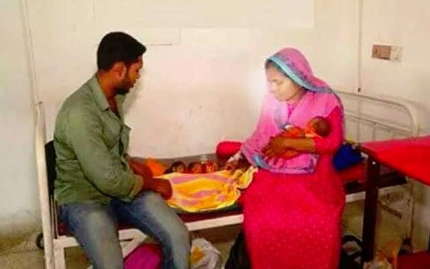 20-latka urodziła synka. 26 dni później znów trafiła do szpitala przez skurcze porodowe