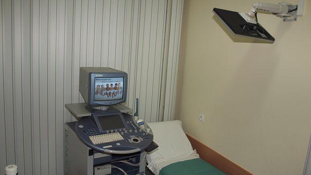 Pracownia USG w w Samodzielnym Publicznym Centralnym Szpitalu Klinicznym im. prof. Kornela Gibińskiego w Katowicach