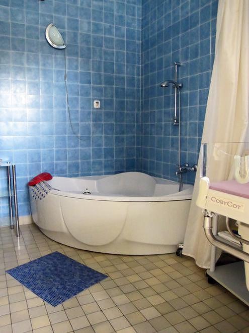 Wanna w sali porodowej Szpitala w Międzylesiu
