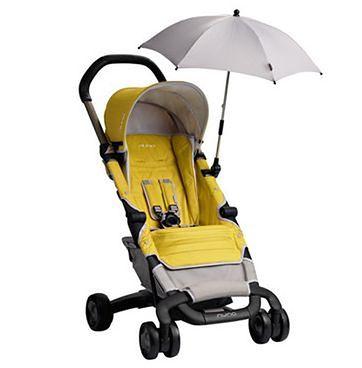 Parasol przeciwsłoneczny do wózka Nuna Pepp Light Grey