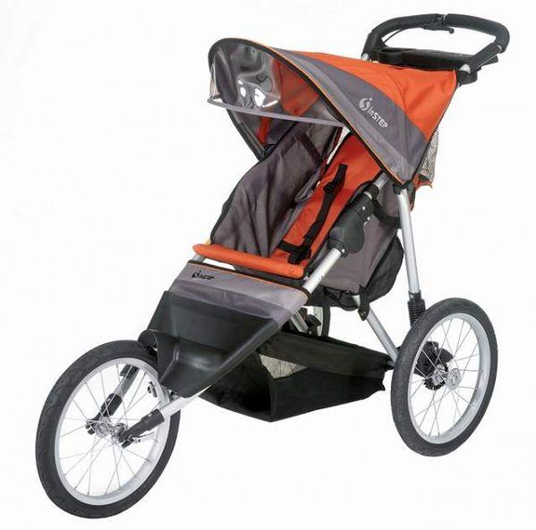 Wózek InStep Jogger Ultra Runner Pomarańczowo-Grafitowy