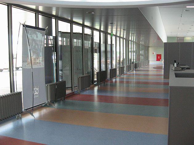Szpital Wojewódzki im. św. Łukasza w Tarnowie - korytarz
