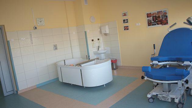 Sala porodowa w Samodzielnym Publicznym Centralnym Szpitalu Klinicznym im. prof. Kornela Gibińskiego