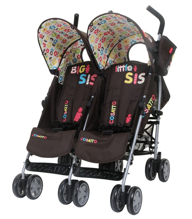 Wózek podwójny Cosatto You2 Twin Big Sis-Little Sis