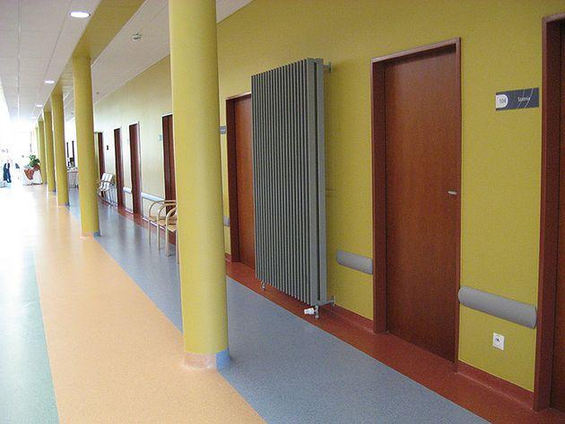 Wnętrza Szpitala Wojewódzkiego im. Świętego Łukasza w Tarnowie