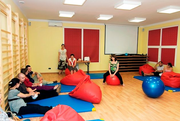 Warsztaty w Szkole Rodzenia Marioli Skowery w Warszawie