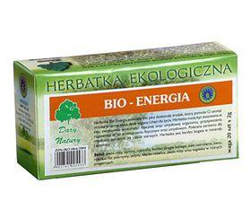 Herbatka ekologiczna bio-energia Dary Natury (50 g)