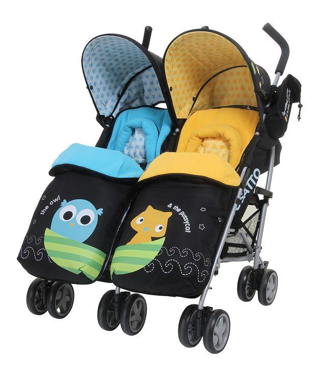 Wózek podwójny Cosatto You2 Twin Owl&Pussycat