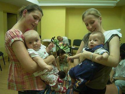 Centrum dla Mamy w Łodzi - mamy z dziećmi