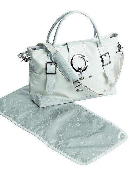 Torba pielęgnacyjna Emmaljunga Style White Leatherette