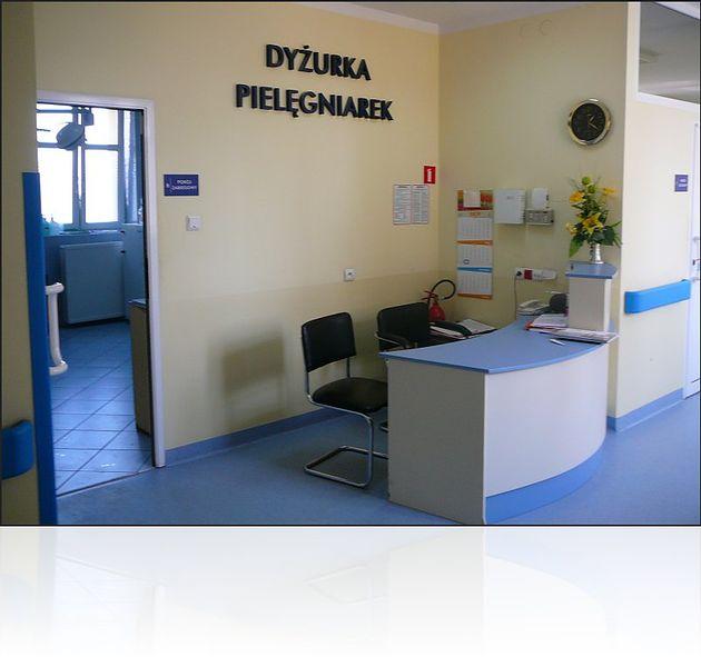 Szpital Miejski Specjalistyczny im. Gabriela Narutowicza w Krakowie - dyżurka pielęgniarek