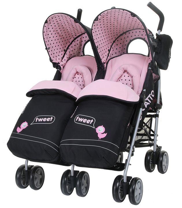 Wózek bliźniaczy Cosatto You2 Twin Little Tweeters