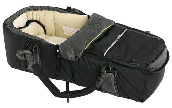 Kokono-śpiwór Emmaljunga Quadrolift PP Black/Lime
