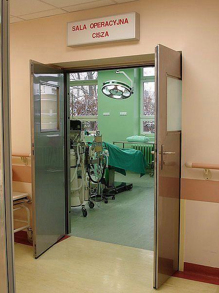 Sala cięć cesarskich w Szpitalu na Solcu