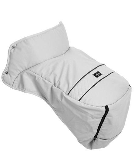 Ocieplacz na nóżki Emaljunga Exclusive White Leatherette