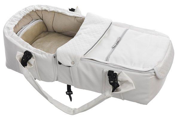 Kokono-śpiwór Emmaljunga Quadrolift White Leatherette