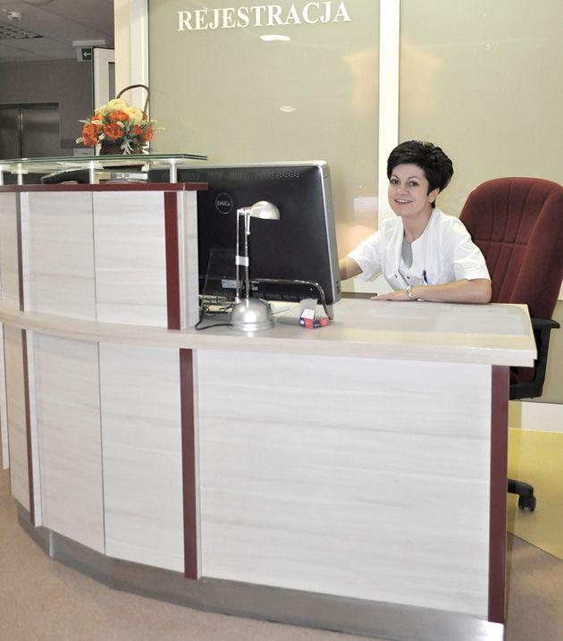 Rejestracja Izby Przyjęć w Szpitalu św. Zofii w Warszawie