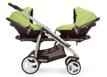 Wózek BEBECAR Vector Duo zielony