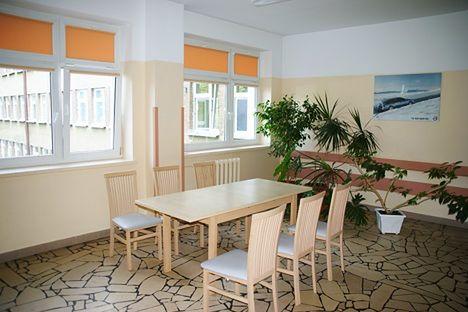 Poczekalnia w Oddziale Ginekologiczno-Położniczym w Szpitalu Miejskim im. Jana Pawła II w Rzeszowie