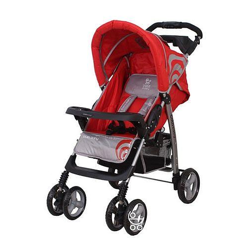 Wózek Coto Baby Blues w kolorze czerwonym