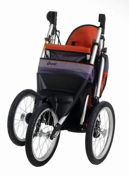 Wózek do joggingu InStep Jogger Ultra Runner Pomarańczowo-Grafitowy