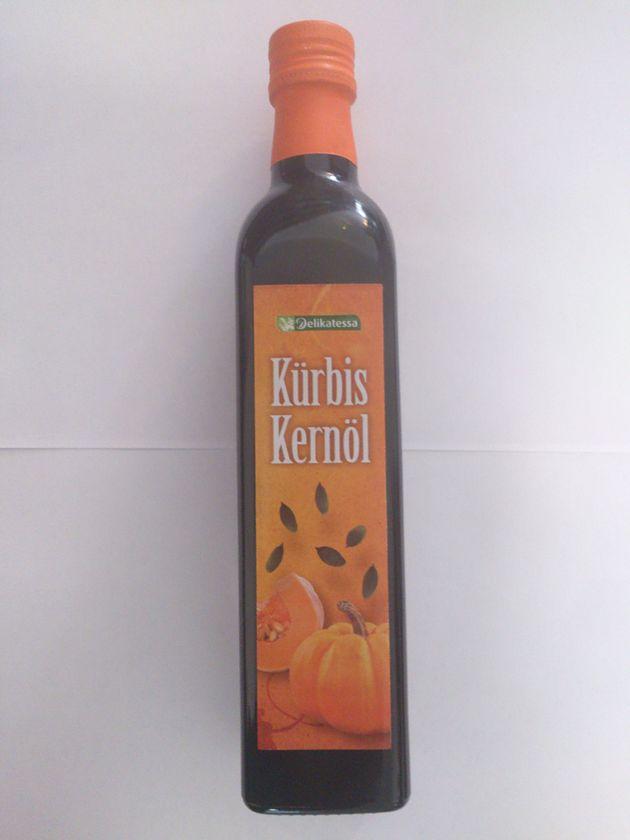 Olej z pestek dyni Delikatessa (500 ml)