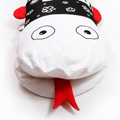 Poduszka bezpieczny sen White&Black