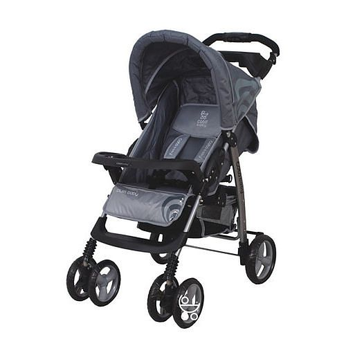 Szary wózek spacerowy Coto Baby Blues