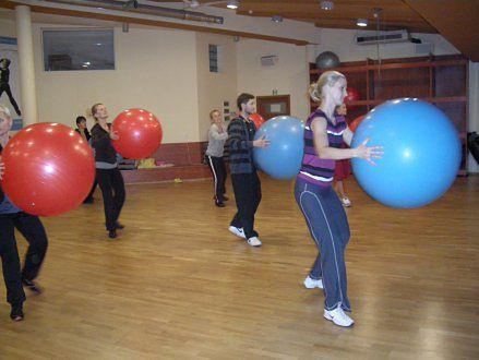 Szkolenie z fit ball