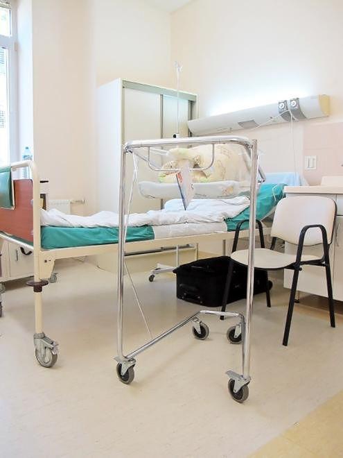 Sala pobytowa w Szpitalu Bielańskim