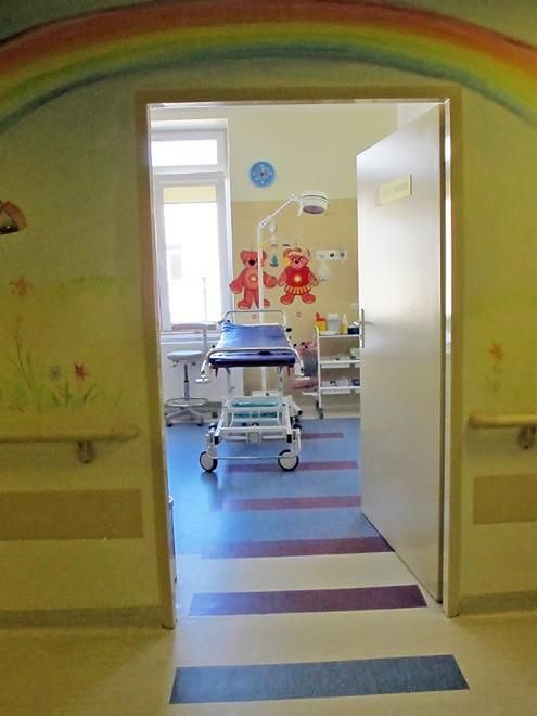 Gabinet zabiegowy w Szpitalu Bielańskim