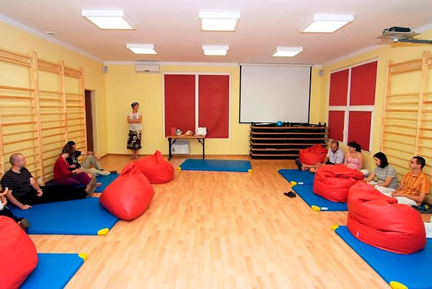 Zajęcia w Szkole Rodzenia Marioli Skowery w Warszawie