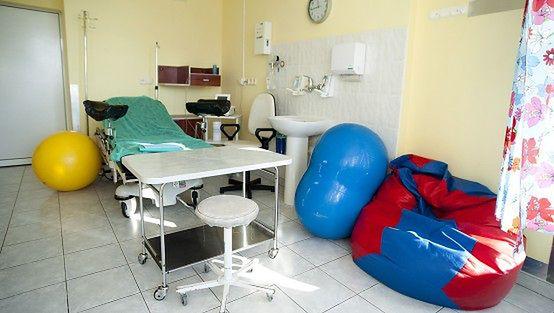 Sala porodowa w Szpitalu Specjalistycznym św. Wojciecha