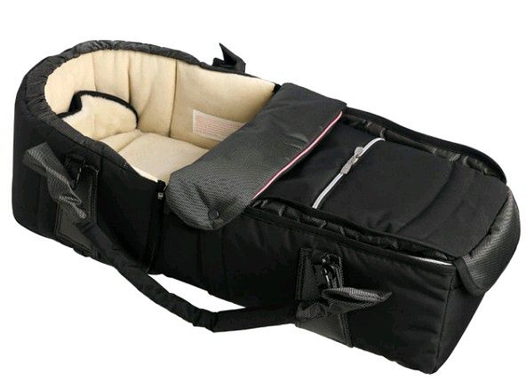 Kokono-śpiwór Emmaljunga Quadrolift PP Black/Pink
