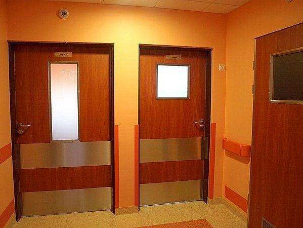 Korytarz w Szpitalu Wojewódzkim w Gorzowie Wielkopolskim