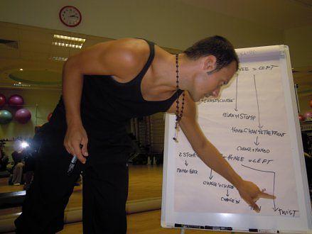 Kurs choreografii z użyciem stepów