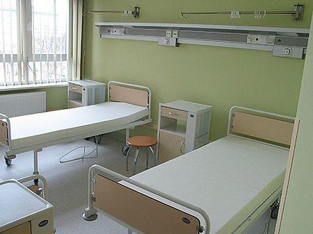 Sala w Uniwersyteckim Szpitalu Klinicznym w Białymstoku