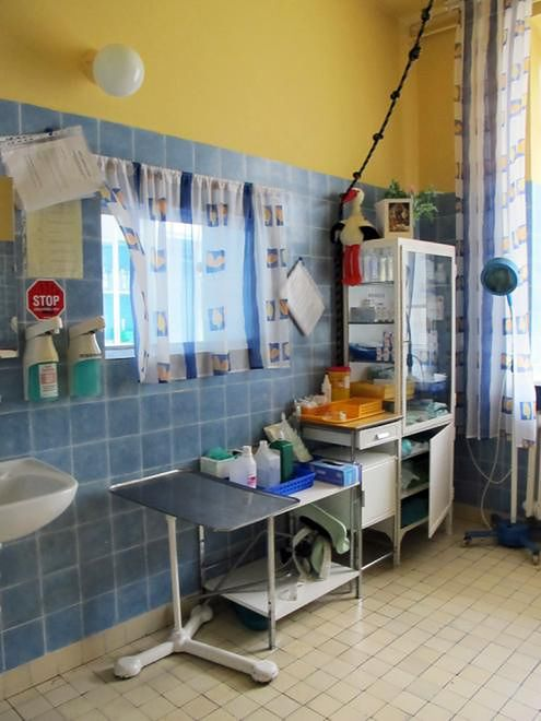 Gabinet zabiegowy w Szpitalu Międzyleskim